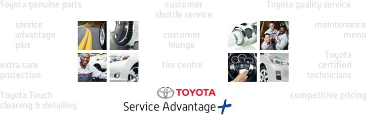 toyota service advantage